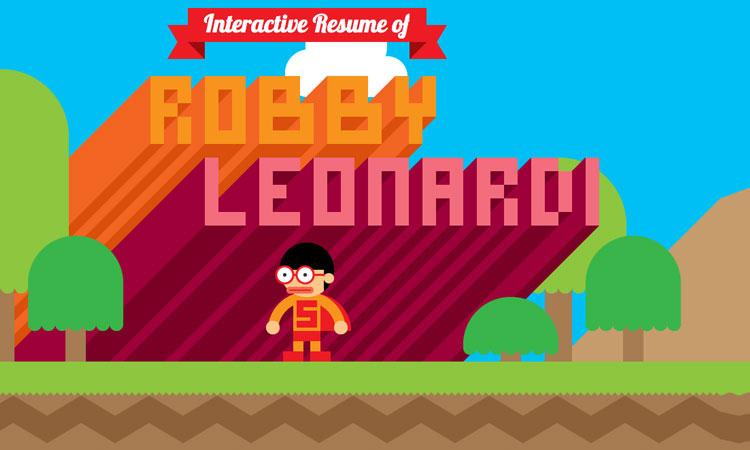 cv interactif robby leonardi - jobweb